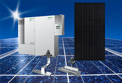 Auxin Solar off grid systems.