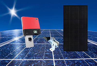 Auxin Solar battery-less backup power kits.